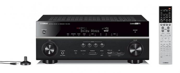 Yamaha RXV781 MusicCast 7 Channel AV Reciever - Black110- 220 VOLTS