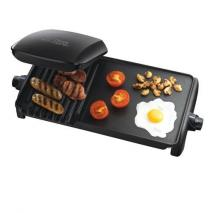 George Foreman 18603 Ten portion Grill and Griddle - Black  220 VOLT NOT FOR USA