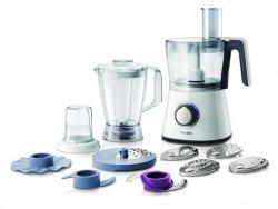 Philips HR7761/01 750 W Kitchen Food Processor with 2.1 L Bowl and Accessories for + 28 Functions 220 VOLT NOT FOR USA