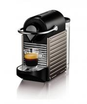 Nespresso XN300540 Pixie Coffee Machine by Krups - Titanium 220 VOLT NOT FOR USA
