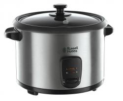 Russell Hobbs 19750 Rice Cooker and Steamer, 1.8 L - Silver 220 Volt NOT FOR USA