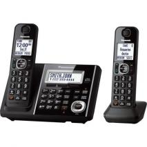 Panasonic KXTGF342B Dect 2-Handset Landline Telephone  110-220 volts