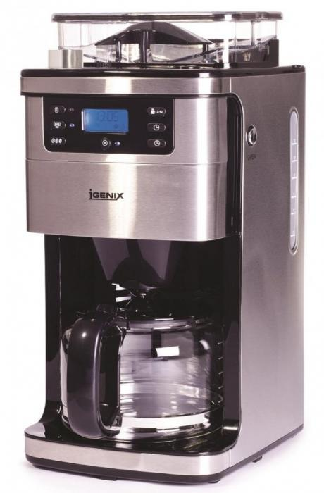 Igenix IG8225 12-Cup Bean to Cup Coffee Maker, 1.5 L, 1050 W 220 Volt NOT FOR USA SamSto