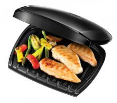 George Foreman 18870 Five Portion Family Grill - Black 220 Volt NOT FOR USA