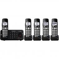 Panasonic kx-tg6845 five handsets cordless phone 220-240 volts 50/60 hz