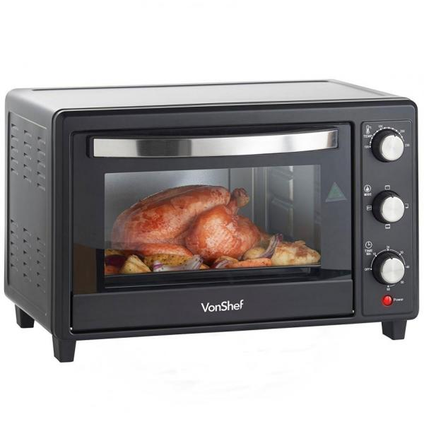 Vonshef 220 volts Toaster Oven with Convection Grill 220 240 volt 50 ...