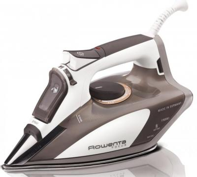 Rowenta DW5080 Focus 1700-Watt Micro Steam Iron Stainless Steel Soleplate with Auto-Off 110 VOLT ONLY FOR USA
