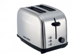 Black & Decker ET222 2-Slice Stainless Steel Pop-up Toaster 220 VOLTS NOT FOR USA