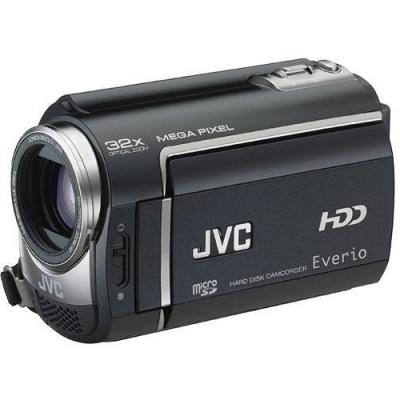JVC GZ-MG465 Everio 60GB Hard Disk Drive Camcorder (Black) PAL CAMCORDER