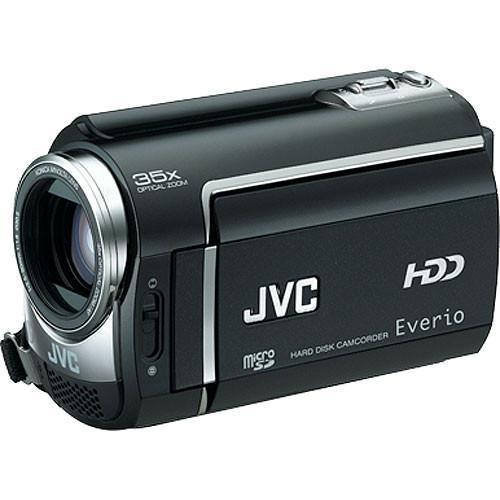 jvc gz mg365 hybrid 60gb hdd microsd camcorder black pal camcorder rh samstores com