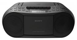 Sony CFD-S70 Classic CD and Tape Boombox with Radio - Black 220 VOLTS for Europe Asia ONLY