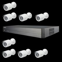 Samsung SDH-C75083B - Wisenet 16 Channel Full HD Video Security System 110-220 VOLTS