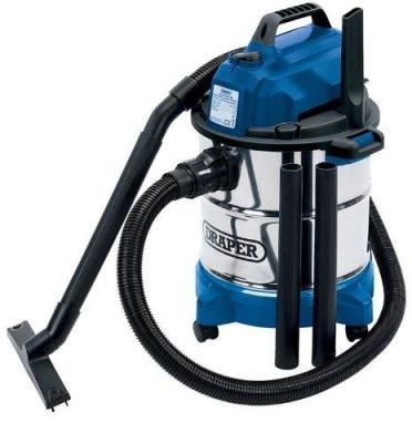 Draper 13785 W/ Dry 20 Litre Vacuum Cleaner, 220-240 V NOT FOR USA