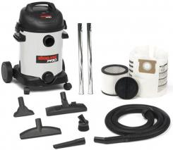 ShopVac 9E2732 Pro Wet/Dry Vacuum Cleaner 25 Liters Capacity 1800 Watts Power 220-240 Volt/ 50/60 Hz,