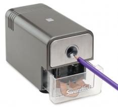 Swordfish 40052 'Latitude' Electric Pencil Sharpener 8mm ref 220 VOLST NOT FOR USA