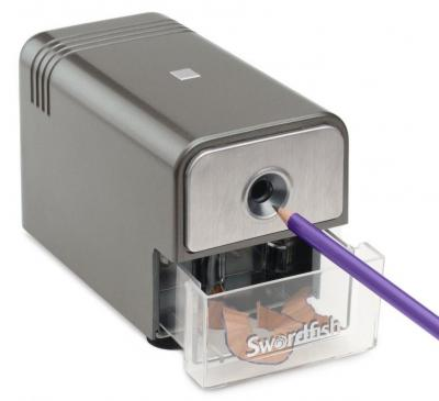Swordfish 40052 'Latitude' Electric Pencil Sharpener 8mm ref 220 VOLST NOT FOR USA