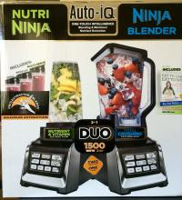 Ninja BL642 Blender Duo with Auto-iQ  220 Volts NOT FOR USA