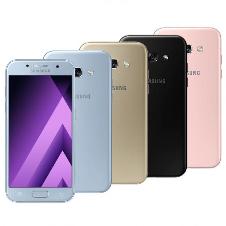 Samsung Galaxy A3 2017 Sm A320f Gold White Black Pink Blue Gsm Factory Unlocked