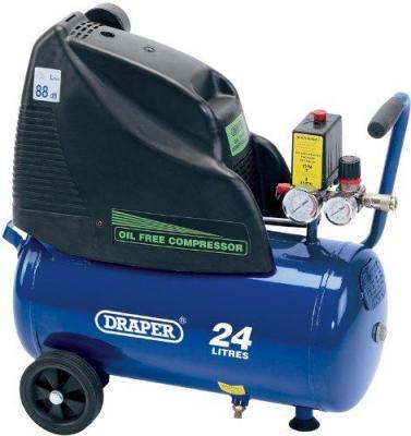 Draper 24978 24-Litre 230V 1.1kW Oil-Free Air Compressor 220 Volts NOT FOR USA