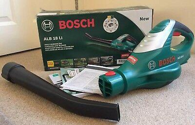 Bosch ALB18 LI Cordless Leaf Blower with 18 V 2.0 Ah Lithium-Ion Battery 220 VOLTS NOT FOR USA