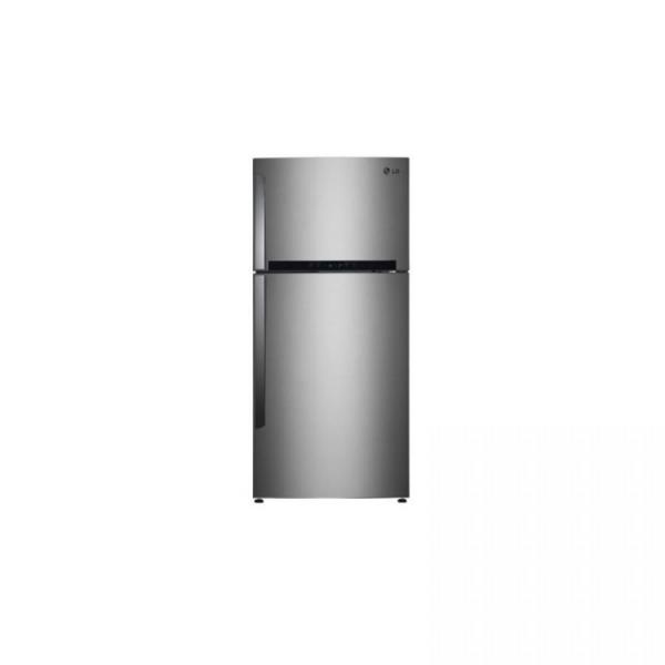 LG GNB 732L TOP MOUNT STAINLESS STEEL REFRIGERATOR FOR 220 240 VOLTS AND  50/60HZ