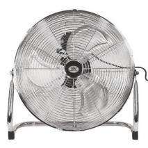 Prem-I-Air EH0522 18 Inch (45 Cm) High Velocity Air Circulator With Chrome Finish 220 VOLTS NOT FOR USA