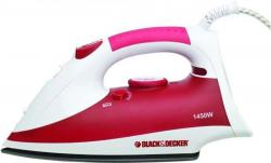Black and Decker X750R-B5  Steam Iron 220 Volts NOT FOR USA