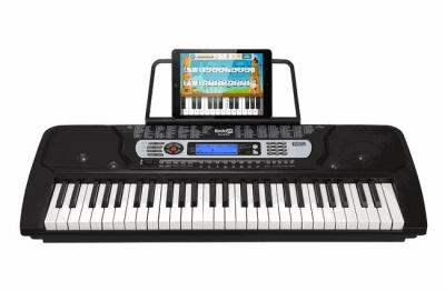 RockJam RJ-645 54-Key Portable Digital Piano Keyboard with Music Stand and Interactive LCD Screen 220 VOLTS NOT FOR USA