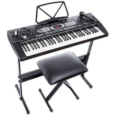 Alesis Melody 61-61 Key Portable Keyboard - Black 220 NOT FOR USA