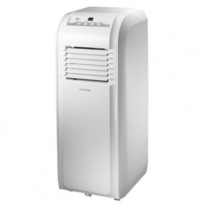 EcoAir ECO8P 8000 BTU Portable Air Conditioning Unit (Cooling Only) - White [Energy Class A] 220 volts NOT FOR USA