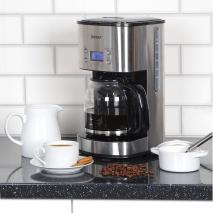 Igenix IG8250 10-Cup Digital Coffee Maker - Stainless Steel 220 volts NOT FOR USA