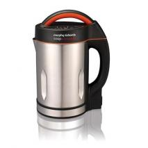 Morphy Richards 501016 Soup and Smoothie Maker - Silver/Black 220 VOLTS NOT FOR USA