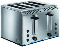 Russell Hobbs 20750 Buckingham 4-Slice Toaster - Brushed Stainless Steel 220 VOLTS NOT FOR USA