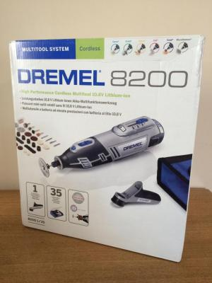 Dremel 8200-1/35 Cordless Multitool Li-Ion (10.8 V), 1 Attachment, 35 Accessories 220 VOLTS NOT FOR USA