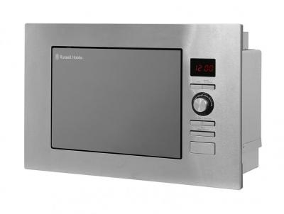 Russell Hobbs RHBM2003 20L Built In Digital 800w Solo Microwave Stainless Steel 220 VOLTS NOT FOR USA