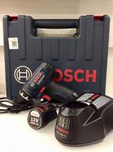 Bosch Professional Battery drill GSR 12-2-LI with 39 PCs. Accessory Set, 2x battery 2,0 Ah, Charger in Bag, 12 V 220 Volts NOT FOR USA