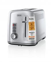 Breville 2-Slice Toaster the Perfect Fit for Warburtons – Silver 220 Volts NOT FOR USA