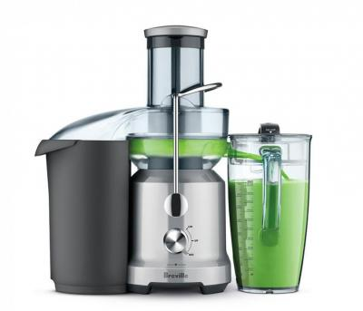 Breville BJE430SIL Juice Fountain Cold Juice Extractor 110 VOLT ONLY FOR USA