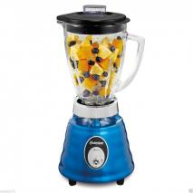 OSTERIZER 4094 BLUE BEEHIVE STYLE BLENDER  5-CUP GLASS PITCHER NICE 220 VOLTS NOT FOR USA