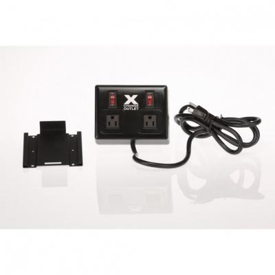 POWERXCHANGER Extension Outlet VOLTAGE AND FREQUENCY CONVERTER (50 <> 60 HZ)  Black
