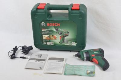 Bosch 0603977070 PSR Select Cordless Screwdriver with Integrated 3.6 V Lithium-Ion Battery 220 VOLTS NOT FOR USA
