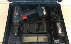 Bosch GSR1440LI  Professional Cordless Drill Driver with Two 14.4 V 1.5 Ah Lithium-Ion Batteries 220 VOLTS NOT FOR USA