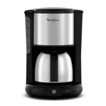 Moulinex FG364800 Subito Stainless Steel Pot Stainless Steel Coffee Maker Stainless Steel 220 VOLTS NOT FOR USA