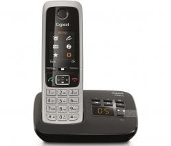 SIEMENS C430A Gigaset  Duo Cordless Phone – Black 220 Volts NOT FOR USA