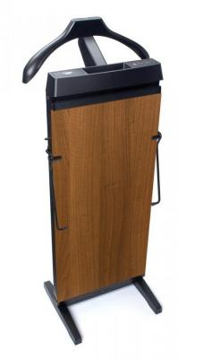 CORBY 4400 Trouser Press, 15 & 30 Minute Timer,  Walnut Wood Effect Finish 220-240 VOLTS NOT FOR USA
