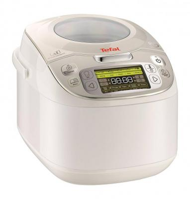 Tefal RK812142 MultiCook Advanced 45-in-1 Multicooker, 45 Manual and Auto Programs - White 220 VOLTS NOT FOR USA