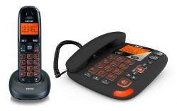 Switel DCT50072C VITA Duo combo Senior telephone with answering machine 220 VOLTS NOT FOR USA