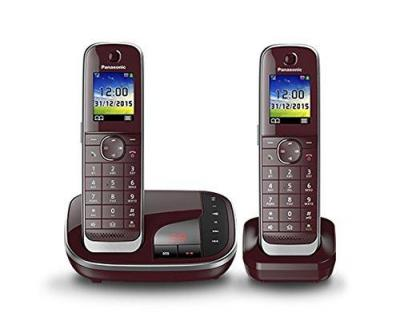 Panasonic KX-TGJ322GR Cordless Phone with Answering Machine 220 VOLTS NOT FOR USA