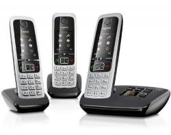 SIEMENS GIGASET C430A DECT TRIO 220 Volts NOT FOR USA