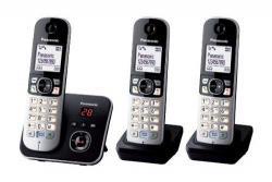 Panasonic KX-TG6823GB Black 220 Volts NOT FOR USA